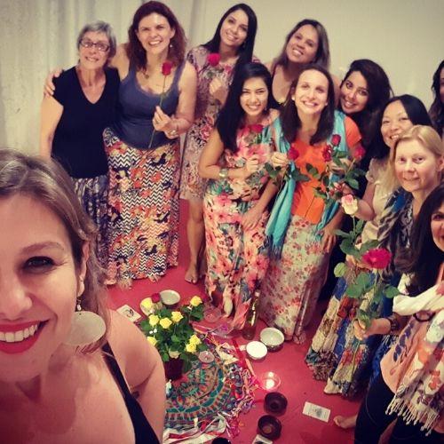 Mulheres compartilham experiência com a Bênção Mundial do Útero